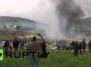 Israeli Squatter Fires on Palestinian Demonstrators near Bethlehem
