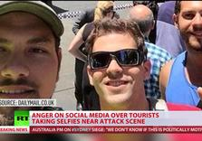 Now that's Cold: Sydney Siege selfies provoke outrage at 'Terror Tourists'