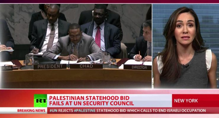 Palestinians ready next Move as UNSC rejects end of Occupation