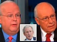 """President Authorized Torture Techniques"": Cheney and Rove throw Bush under the Bus"