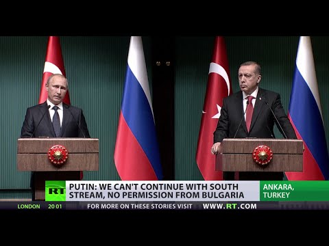 Putin, Blocked by Europe, turns to Turkey for Gas Pipeline