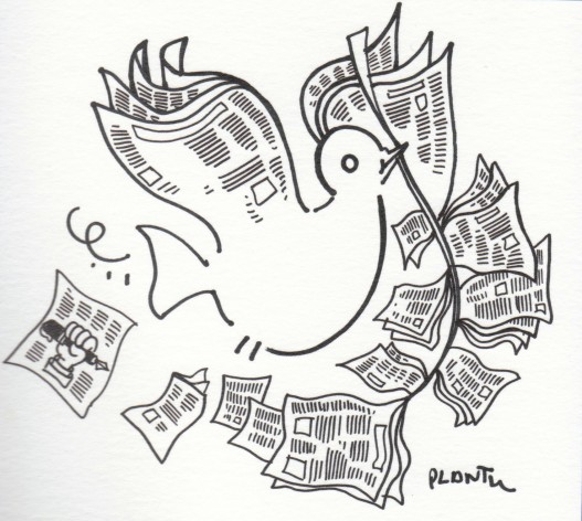 Peace Cartoon Drawings Drawing For Peace – a