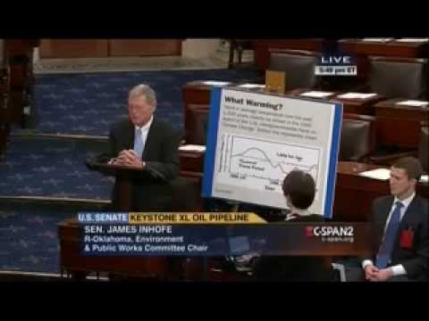 Climate-Denial Buffoon Inhofe takes Big $$ from Big Oil, Says Scientists Corrupt