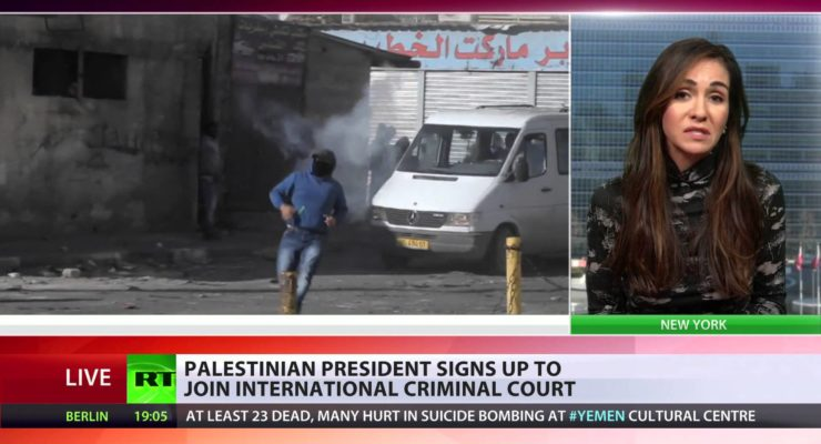 Israel War Crimes Trial in 2015?   Palestinians sign up to join International Criminal Court