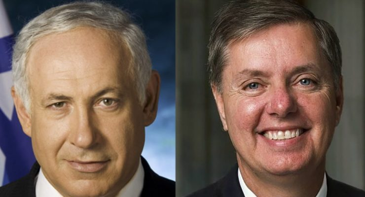 Sen. Lindsey Graham pledges allegiance to Israel's Netanyahu vs. Obama