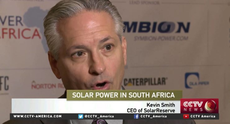 As South Africa aims to get 1/2 of Power from Solar, US Firms Jump In