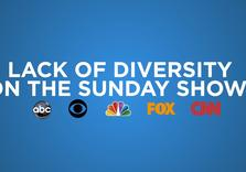 Old White Men Dominate Sunday Political Shows Yet Again