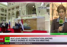 Putin on the Nile:  an Isolated Russia Seeks friends in Egypt w/ offer of Nuclear Plant