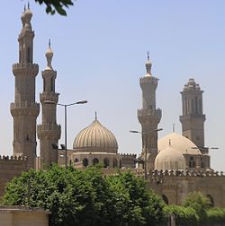 250px-Cairo_-_Islamic_district_-_Al_Azhar_Mosque_and_University