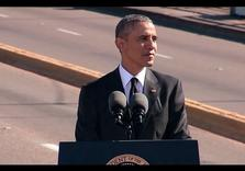 50 Yrs after Selma – Good News: A Black President; Bad News:  Pleads for Return of Voting Rights