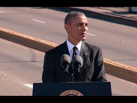 50 Yrs after Selma – Good News: Black President; Bad News:  Asks for Return of Voting Rights
