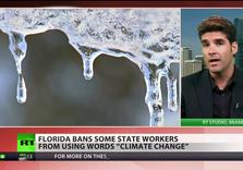 "As state Sinks, GOP forbids Fla. State Enviro workers from saying ""Climate Change"""