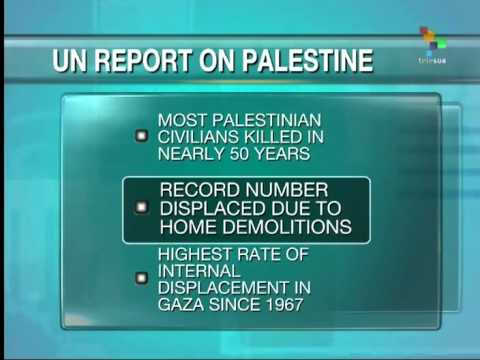 More Palestinians killed than any year since1967, Says United Nations