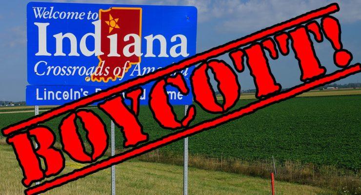 Boycotting Indiana over anti-Gay Religious Discrimination