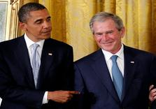 Bush blames Obama for lack of Wars ('Follow-Through' on 'Threats')