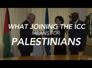 Why Palestine joining the International Criminal Court could be a total game changer
