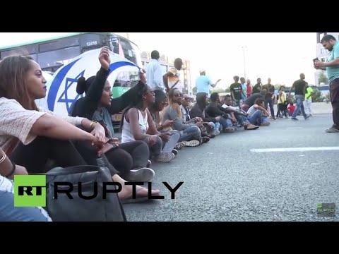 Black Lives Matter in Israel too:  Protest against police violence