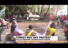 Turkish Police Repress Mayday Labor Protests