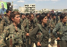"As Kobane comes under ISIL attack, Kurds Encircle, cut off ""caliphate"""