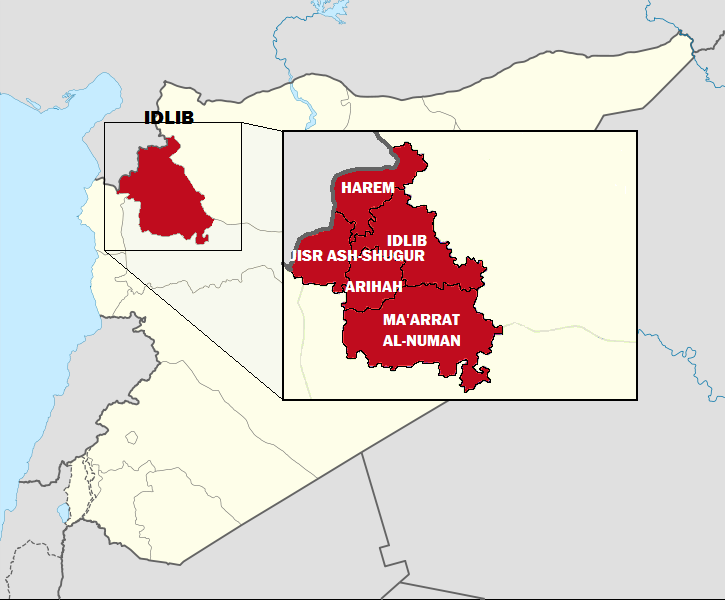 Idlib_Governorate_with_Districts