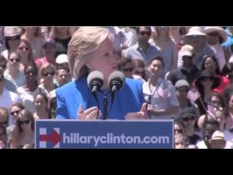 Hillary Clinton kicks off Campaign in NYC:  Says Heir to FDR pro-Middle Class Policies (Full video)