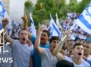Israel's Ultranationalist Squatters March in Jerusalem, beat Palestinian Journalist