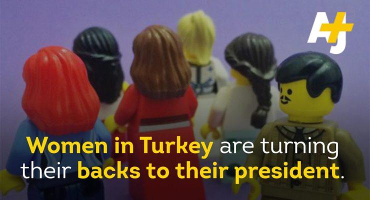 On eve of Turkish Election, Leftist Women Turn backs on Pres. Erdogan in Twitter Campaign
