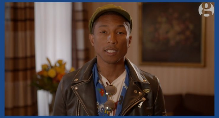 Pharrell Williams to G7:  Green Energy is a Jobs Issue for unemployed Youth