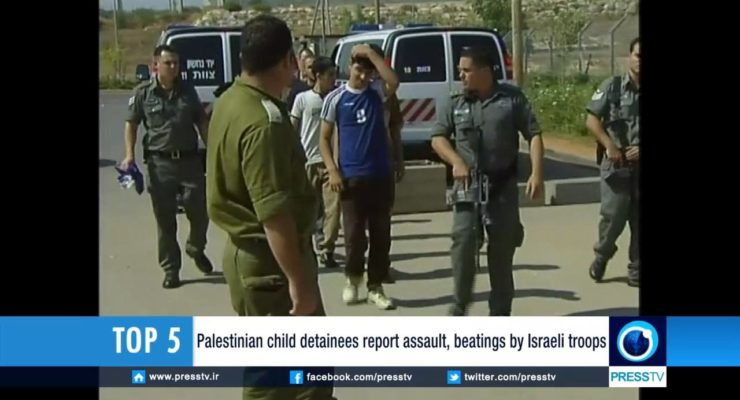 Since 1967: 95,000 Palestinian Children Incarcerated by Israel