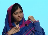 """Books, Not Bullets,"" Malala Yousafzai Urges at Oslo Summit"