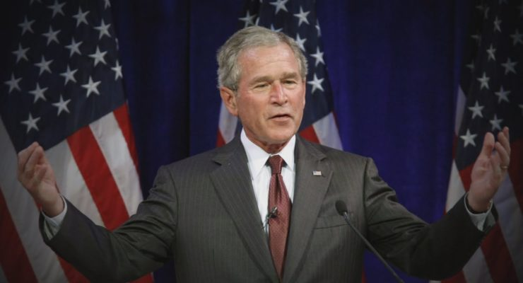 George W. Bush Started War, then Charged $100,000 to Help US Veterans Charity