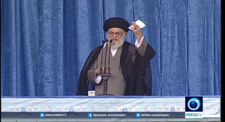 Iran's Khamenei Praises Nuclear Deal, but slams US Foreign Policy
