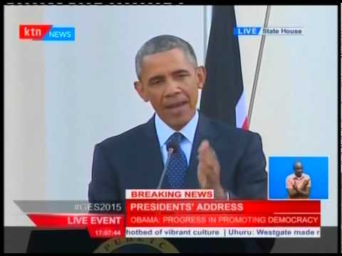 Obama Walks Fine Line in Kenya on LGBTI Rights