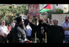 Palestinians Christians Clash with Israeli Soldiers after Sunday Mass over Bethlehem Confiscations
