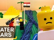 Water Wars from the Pharaohs to the West Bank in 2 mins. via Lego Animation