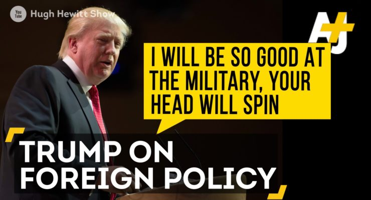 """Donald Trump Fails Foreign Policy 101, calls Interviewer """"Third Rate"""""""