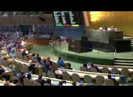 Over Israeli, US Objections, UN votes to raise Palestinian flag at HQ