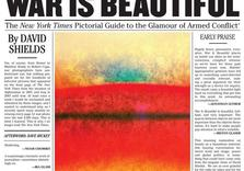 War is Beautiful: How Newspapers' War Photography Conceals the Hideous Reality