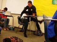 SC Cop Flips Black Student In Her Desk