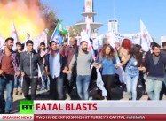 Who Bombs a Peace Rally? An Unprecedented 86 Dead in Turkey capital as Accusations fly