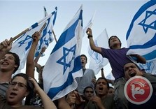 Israeli protesters demand separate roads for Palestinians, Israelis