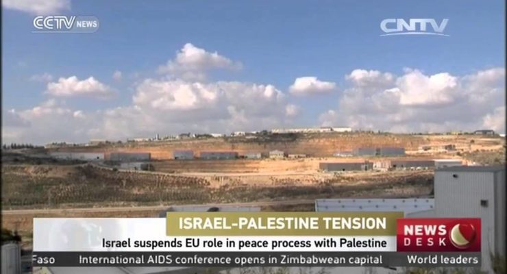 "Angered that EU labels Squatter W. Bank Products, Israel suspends EU from ""Peace Process"""