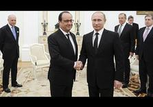 As French Pres. Hollande meets Putin, France considers alliance w/ Syrian Army