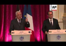 Palestinian leadership in solidarity with France after deadly attacks