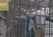 Syria: al-Qaeda, Army of Islam Cage Hostages in Street as Human Shields