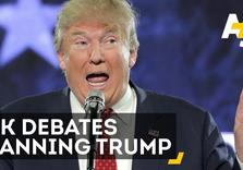 "British Parliament Debates ban on Donald Trump:  ""He is a Wazzock!"""