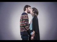 Jews and Arabs Kiss in Protest against Banning of Novel