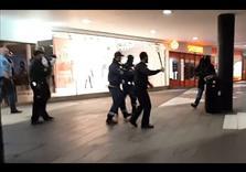 That Swedish black-clad anti-refugee Mob beating Children?  Neo-Nazis.