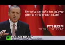 Erdogan Threatened Europe with Refugees, now Demanding US abandon Syrian Kurds