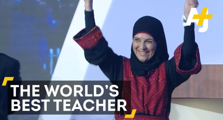 And the Best Teacher in the World is . . . a Palestinian